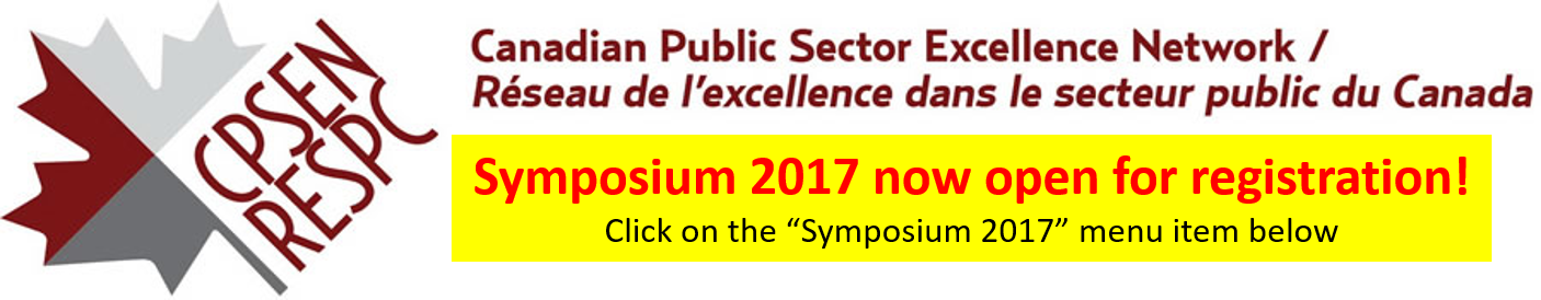Canadian Public Sector Excellence Network